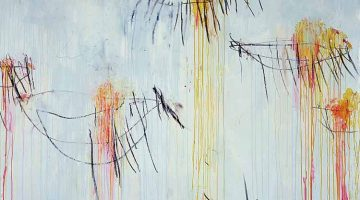 Lepanto by Cy Twombly (panel 2)