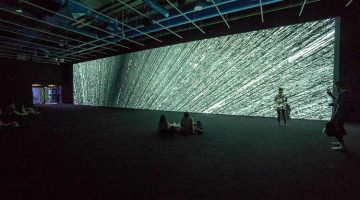 Swimming in the river of bits: The digital meditation of Ryoji Ikeda's Continuum