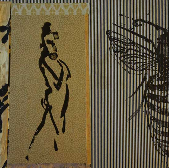 Cynthia Yachtman - Woman with Bee