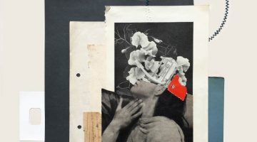 Rhed Fawell: Collage and Embroidery