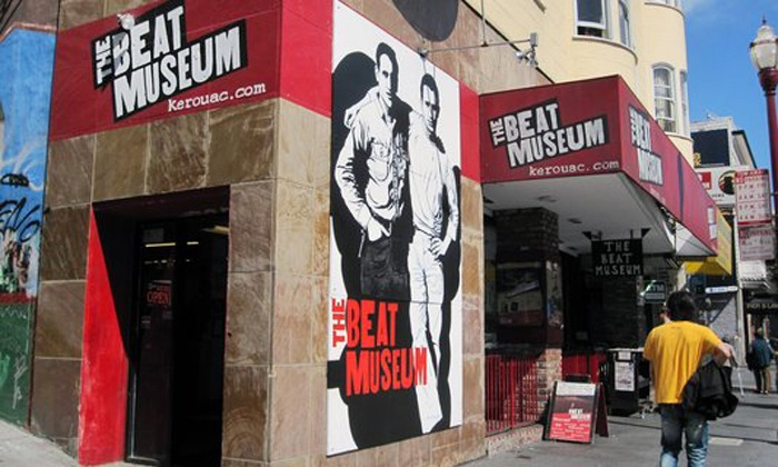Beat Museum poetry reading