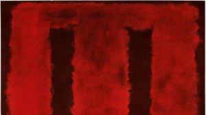 Mark Rothko, Untitled (detail)