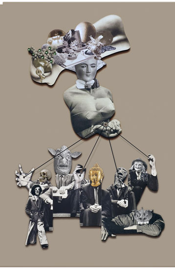 BEATNIK 1 - Rebeka Elizegi collage