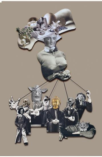 BEATNIK 1 - Rebeka Elizegi collage