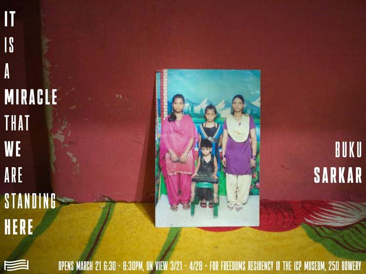 Buku Sarkar photography exhibition NYC