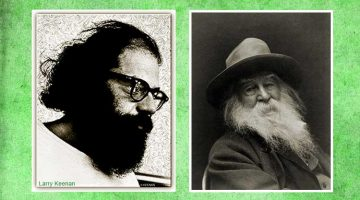 Allen Ginsberg photo by Larry Keenan / Walt Whitman