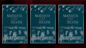 Mayhem and Death by Helen McClory, reviewed by Laura Morgan