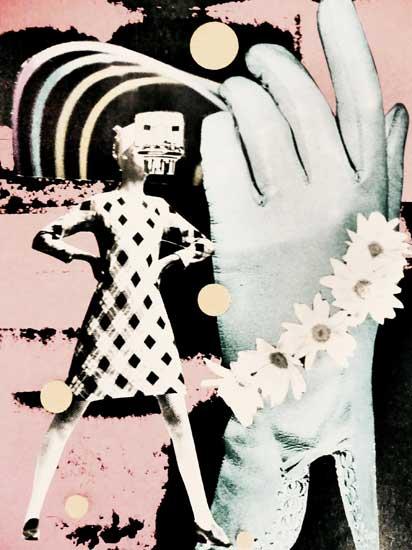 Galaxy Filament - collage by hiromi suzuki