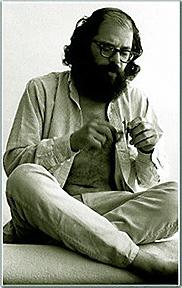 Allen Ginsberg / copyright Larry Keenan