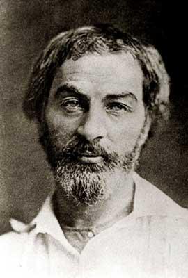 Walt Whitman, 1854
