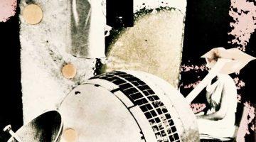 Juicy Satellite (detail) - collage by hiromi suzuki