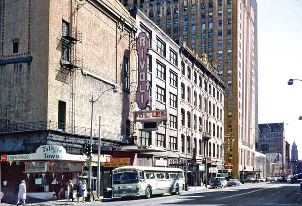The Hotel Stevens and Rivoli Theater