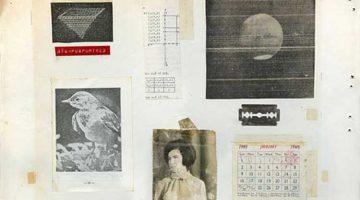 Grafik 4 (detail) collage by Kon Markogiannis