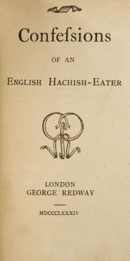 Confessions of a Hachish Eater - George Redway, publisher