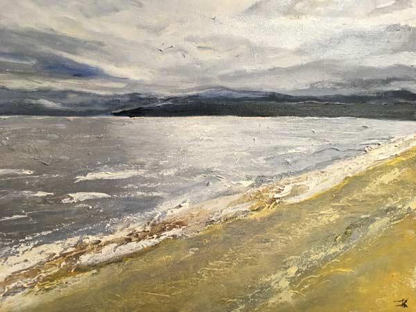 Jocelyn's Vashon Island - painting by Judith Skillman
