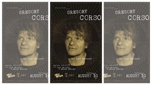 Gregory Corso - The Gold Standard LP, Unrequited Records