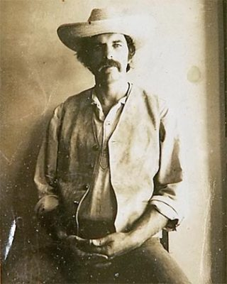 Former Beat poet and novelist Jerry Kamstra as a young man. (Contributed photo -- Santa Cruz Sentinel)