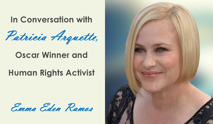 Patricia Arquette interview - Emma Eden Ramos