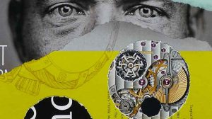 The Eyes Have It (detail)- collage by Cherie Hunter Day