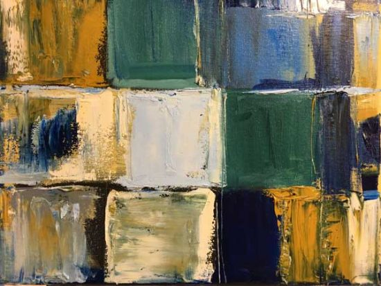 Shuttered Windows - Judith Skillman painting
