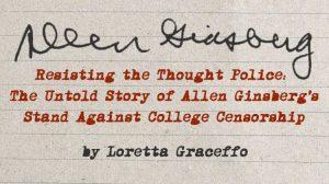 Allen Ginsberg College Censorship - Pavan - Loretta Graceffo