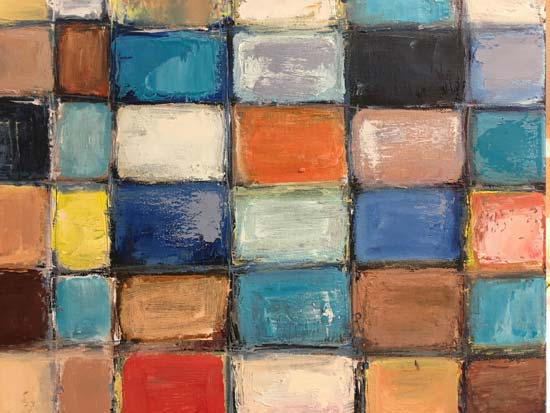Black Lies II - Judith Skillman painting